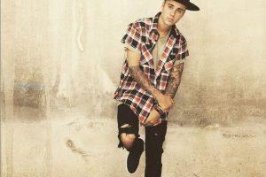 J. Bieberis pademonstravo nuogą užpakaliuką