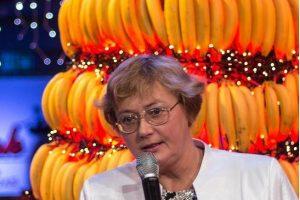 Šventės eglutei pagaminti prireikė tūkstančio bananų
