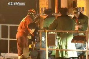 Kinijoje išgelbėti keturi šachtininkai, po žeme išbuvę 36 paras