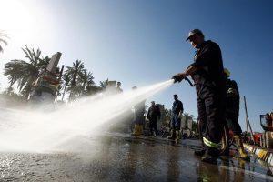 Sprogdinimo Irake aukų padaugėjo iki 61