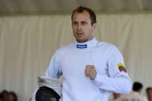 J. Kinderis pasaulio šiuolaikinės penkiakovės čempionate  – aštuntas