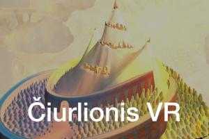 Virtualus pasivaikščiojimas po M. K. Čiurlionio paveikslų galeriją