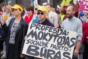 Švietimo ministrei gaila mokinių: mokytojai planuoja kitą streiką