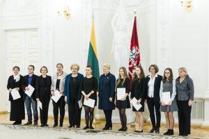 Prezidentė pasveikino Lietuvą garsinančius muzikantus