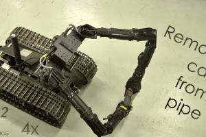 Robotas, kuris padės išsaugoti karių gyvybes