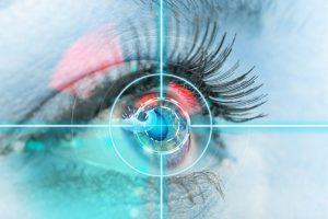 Sukurti kontaktiniai lęšiai, kurie gali filmuoti