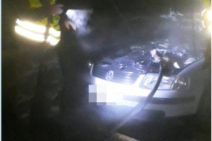 """Saločiuose degantį """"Volkswagen Passat"""" gesino pasieniečiai"""