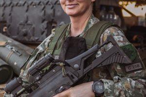 Moteris, atsakinga už 1400 karių saugumą: misijoje užvaldo pilnatvės jausmas