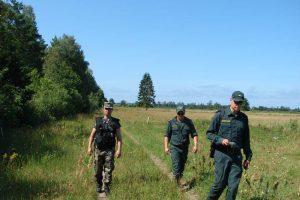 Vykdoma detali Lietuvos ir Latvijos sienos apžiūra