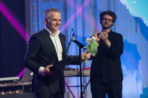 A. Stoniui – tarptautinio kino festivalio apdovanojimas