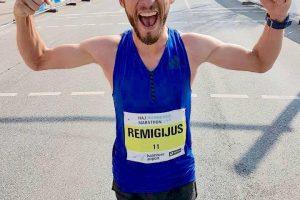 R. Kančys apie įveiktą maratoną: nesitikėjau, kad galiu bėgti taip greitai