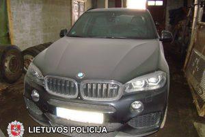 Pareigūnų laimikis – prabangūs, užsienyje vogti BMW