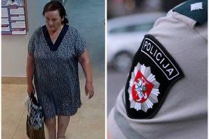Kauno pareigūnai tiria vagystę – ši moteris gali turėti reikšmingos informacijos