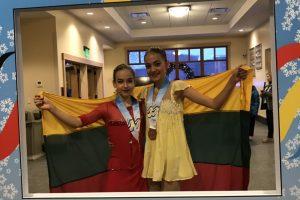 Tarptautinėse vaikų žiemos žaidynėse triumfavo kaunietės!