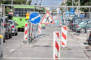 Dėl Savanorių prospekto – svarbi informacija važiuojantiems viešuoju transportu