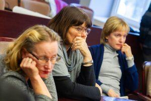 Mokytojai kreipėsi į prezidentę: grasinimai rodo, kad ši krizė gilėja