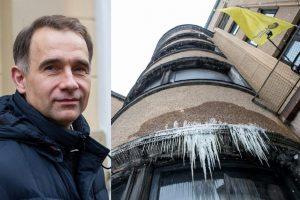 Ministras apie neprižiūrimą Kauno centrinį paštą: ši situacija – ne iš gero gyvenimo