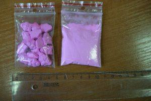 Narkotikų tiekėjas draudžiamas medžiagas slėpė darbovietėje