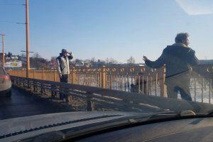 Po incidento ant P. Vileišio tilto – į ligoninę