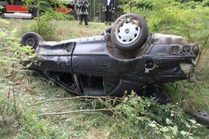 Per girto vyro sukeltą avariją Kauno rajone žuvo žmogus (ieškomi liudininkai)