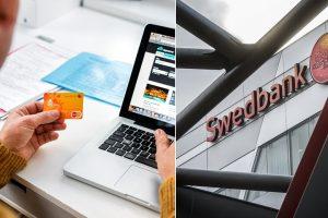 """""""Swedbank"""" klientai tapo sukčių taikiniu: ragina nedelsiant pranešti teisėsaugai"""