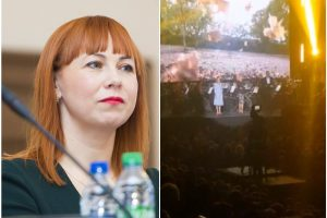 Mokytojų nušvilpta ministrė: manęs atsiprašė