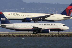 San Fransisko oro uoste per plauką išvengta lėktuvų susidūrimo