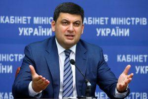 Ukrainos premjeras ragina ginti Rusijoje suimtą žurnalistą