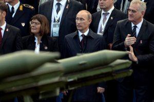 Maskva: NATO apie potencialią Rusijos agresiją kalba tik dėl savo finansų