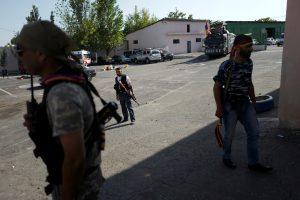 Susirėmimai Jerevane: sužeisti penki žmonės