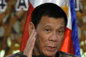 Apie pasitraukimą iš JT Filipinų prezidentas tik pajuokavo