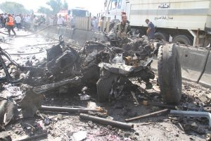 """Sirijoje sprogus automobiliui žuvo 12 žmonių, tarp jų – opozicijos """"ministras"""""""