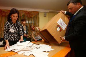 Kol kas Baltarusijos parlamente – tik viena opozicijos atstovė