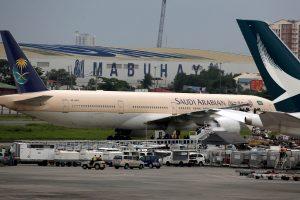 Manilos oro uoste keleivinis lėktuvas apsuptas dėl netikro aliarmo