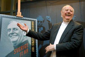 Sulaukęs 90-ies metų mirė Nobelio premijos laureatas D. Fo