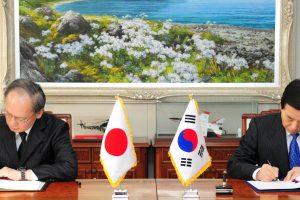 Pietų Korėja ir Japonija susitarė dalytis žvalgybos informacija