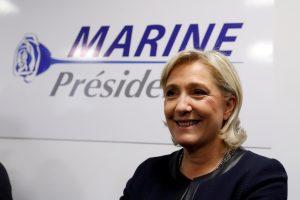 Prancūzijos dešiniojo sparno lyderė toliau demonstruoja palankumą Rusijai