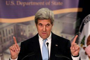 Buvęs JAV sekretorius J. Kerry vyksta į Latviją