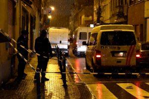 Per reidą Briuselyje sulaikyti terorizmu įtariami asmenys