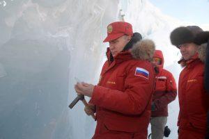 Rusijos kuriamas lazeris skaldys Arkties ledynus
