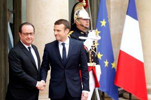 E. Macronas inauguruotas Prancūzijos prezidentu