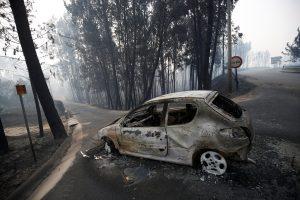 Portugalijoje – didžiulis miško gaisras, žuvo 62 žmonės