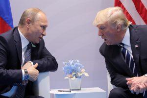 D. Trumpas: spaudžiau V. Putiną dėl kišimosi į mūsų rinkimus