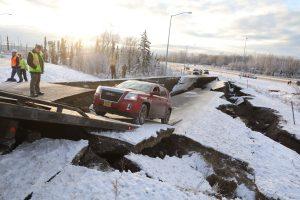 Aliaskai smogė galingas žemės drebėjimas, yra sužeistųjų