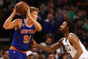"""M. Kuzminskas prie """"Knicks"""" pergalės prisidėjo dešimčia taškų"""