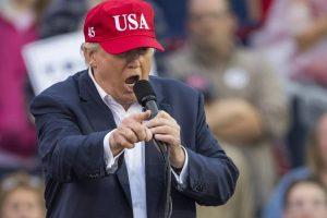 """D. Trumpo """"Twitter"""" žinutė sukėlė patyčių audrą"""