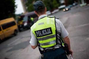 Teisės vairuoti netekęs marijampolietis sučiuptas prie vairo