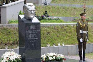Paaiškėjo, kur bus palaidotas A. Ramanauskas-Vanagas