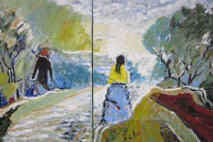 Kaip atrodo atskiras tapytojo G. Markučio pasaulis?