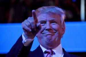 Audringą respublikonų suvažiavimą vainikuos D. Trumpo kalba
